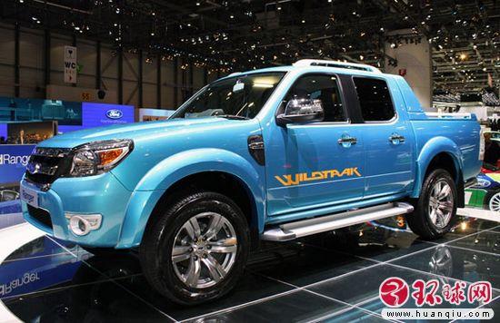 福特南非生产新款ranger皮卡 面向全球出售 高清图片