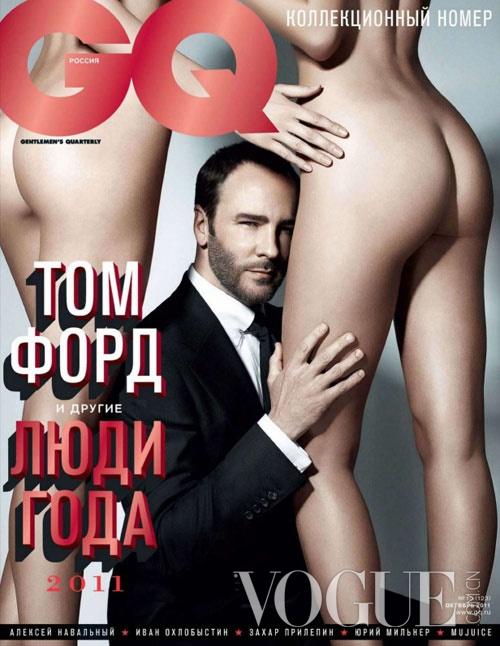 闻香识女人 Tom Ford登《GQ》演绎性感大片