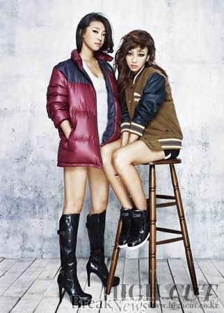 韩国四人女子组合代言射击网游《dizzel》