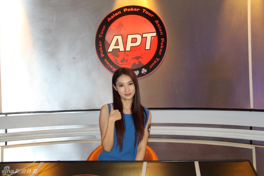 【组图】中国首位美女扑克冠军李思晓解说菲律