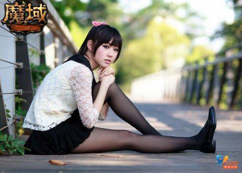 《魔域》美女玩家齐秀秀6