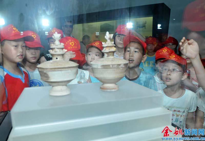 参观余姚博物馆五年级鸿运手机版首页