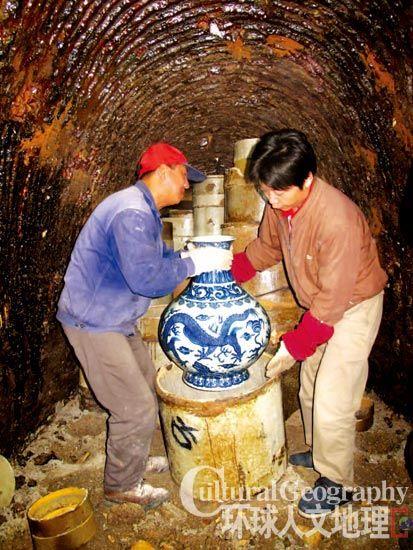 烧瓷器天然气窑炉内部结构图片