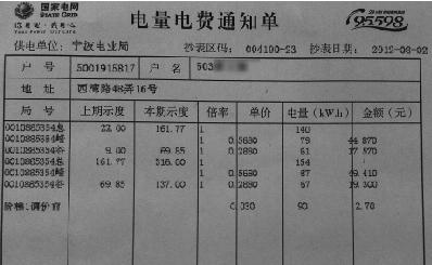 <em>宁波</em>新阶梯<em>电价</em>实施一个月:居民月用电400度最