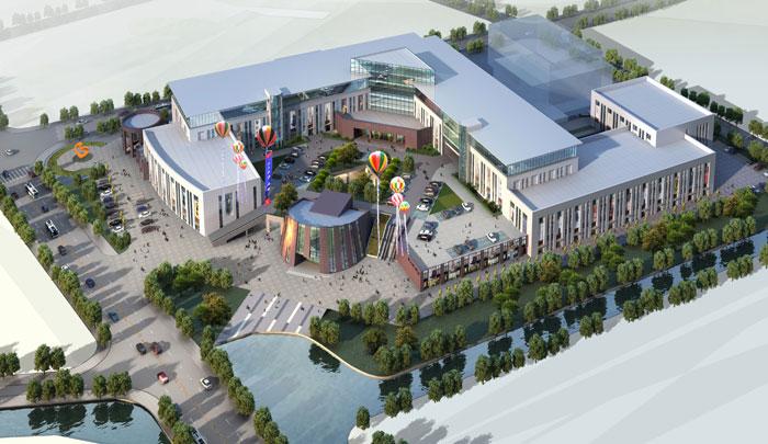 宁波保税区进口商品市场高清图片