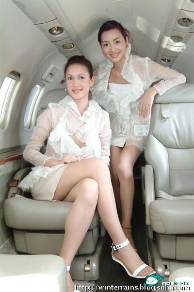 新加坡泰国空姐晒化妆包