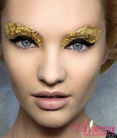 2018创意眼妆彩妆图片_创意彩妆眼妆图片