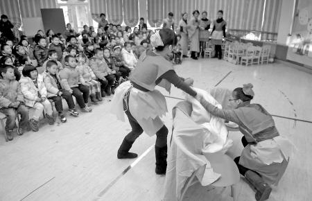 华光幼儿园孩子自制图书
