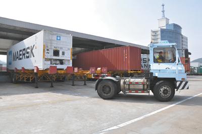 宁波港集装箱运输总经理吴伟:看好甩挂运输前景