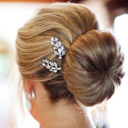 学最美欧式新娘盘发