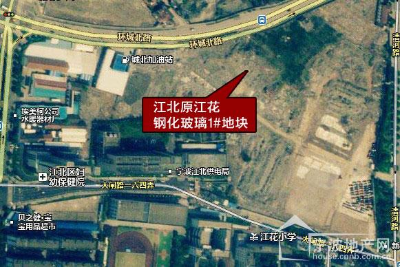宁波江北区地图