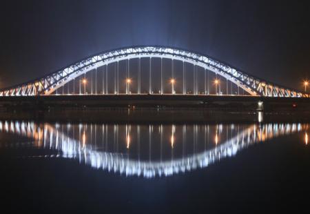 湾头大桥夜景  -早安宁波