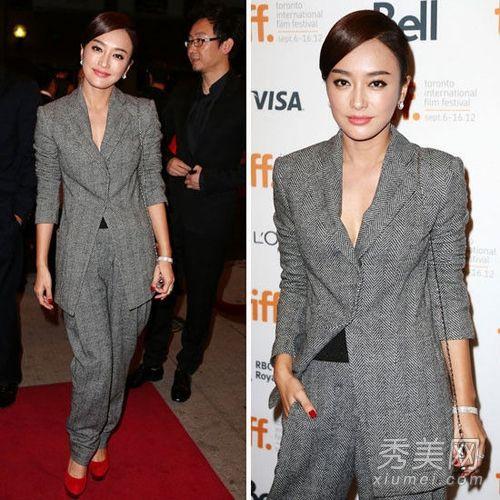 王菲穿西装减龄 领衔女星外套搭配