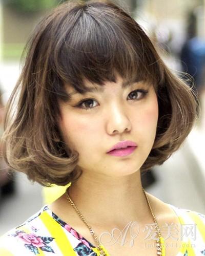 长圆脸短发bobo发型 圆脸短发发型bobo头 圆脸短发bobo发型女
