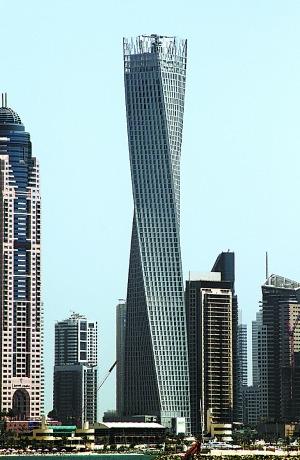 """盘点全球""""扭曲""""建筑 迪拜卡延塔最拧巴"""