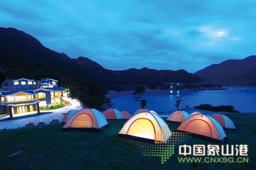 鹤浦镇风门口是全省唯一位于海岛上的省级森林公园.