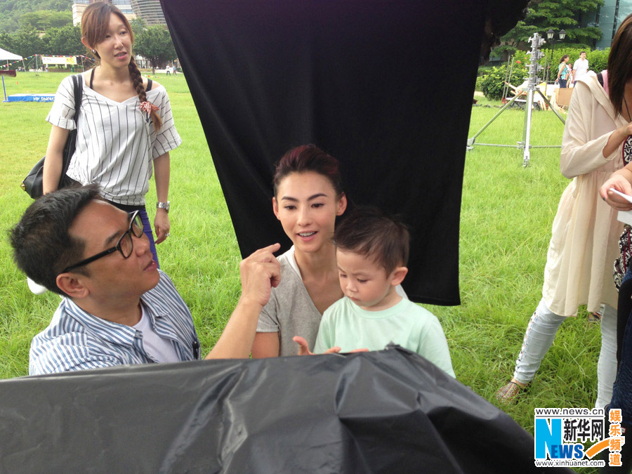 Cecilia Cheung's new advertisement