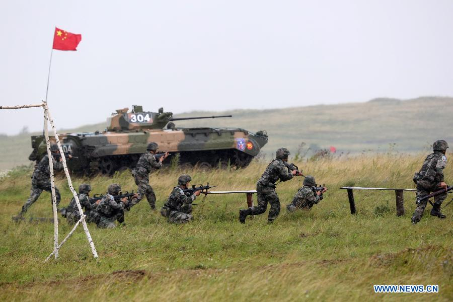 Peace Mission-2013 China-Russia joint military drill underway