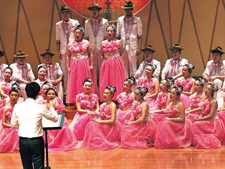 宁波市首届合唱大赛县(市)区专场比赛现场侧记