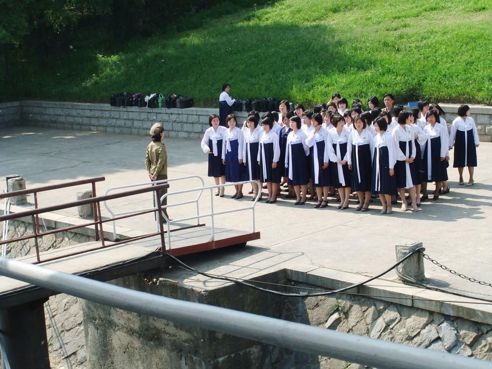 驴友朝鲜见闻 看平壤的现代化休闲啥样