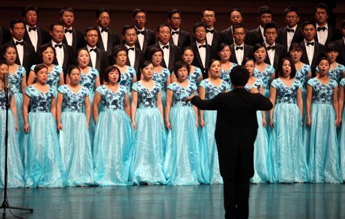 2013年浙江省经典歌曲合唱大赛落幕-合唱大赛