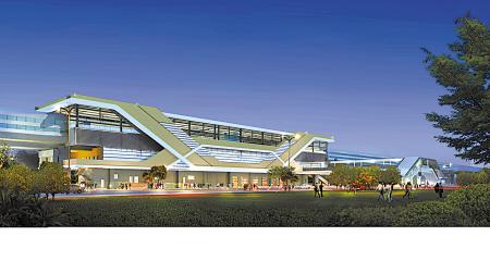 轨道交通1号线二期8个高架车站造型亮相
