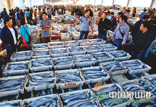 海鲜市场购销两旺