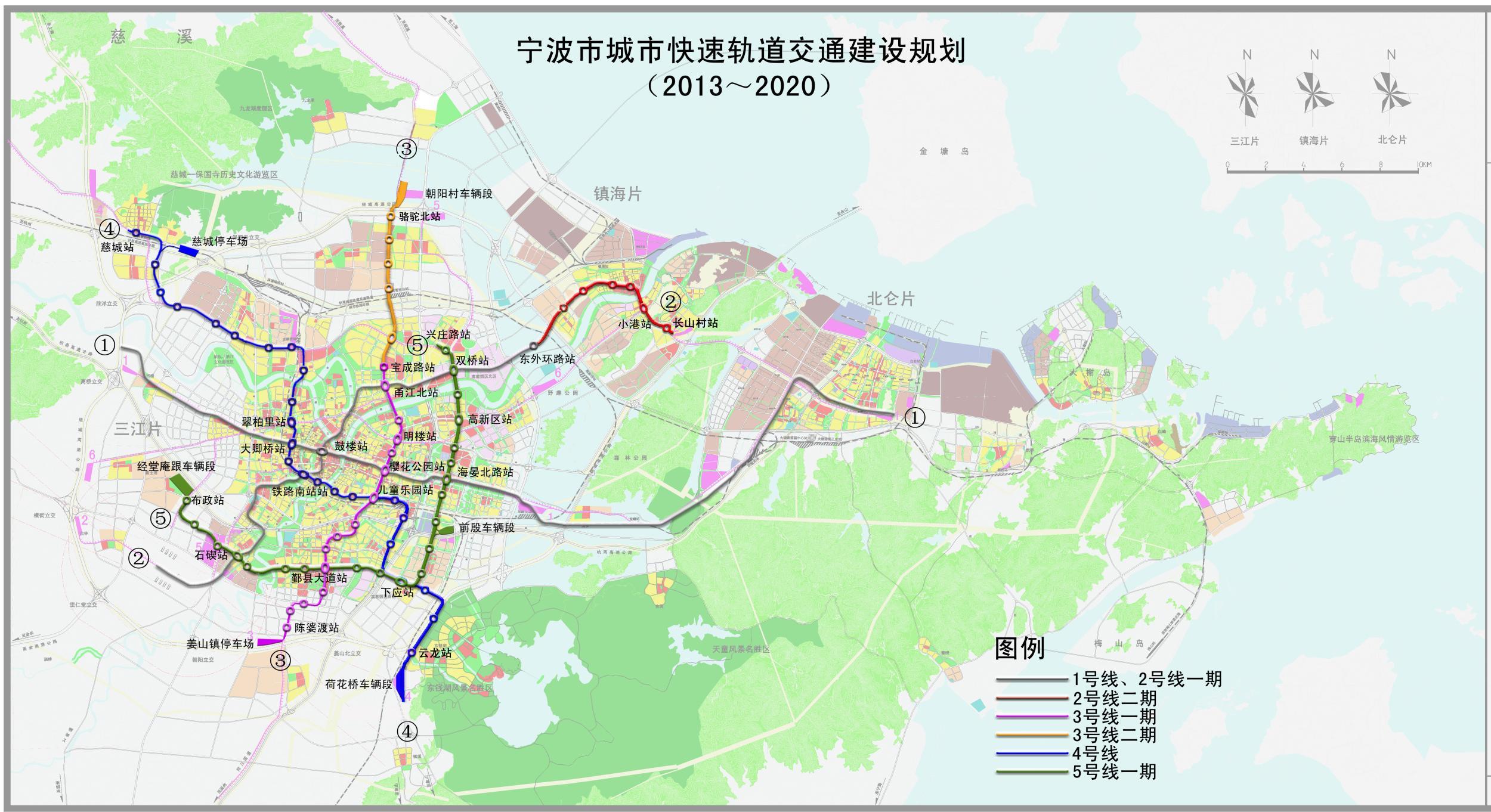 宁波市高清地图全图