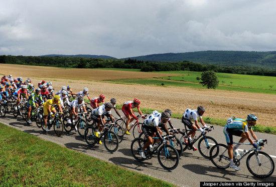 科尔马/著名的环法自行车赛也途经科尔马。
