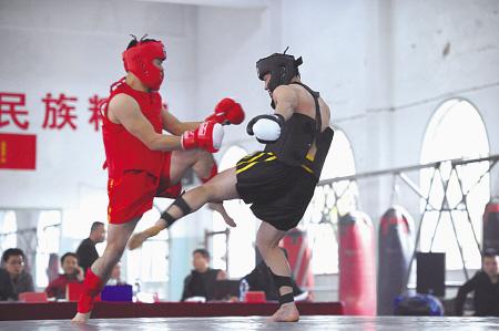 市武术散打锦标赛举行
