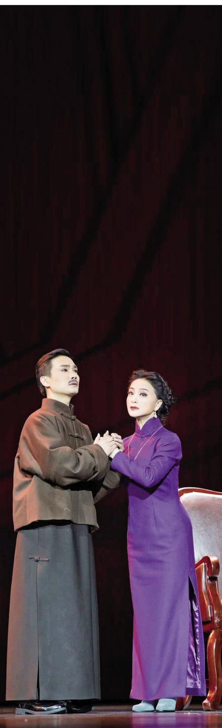 五月赴杭六月晋京 甬剧《沈三江》一直在打磨