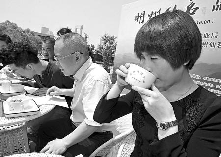品茗谈茶快乐五一 明州仙茗茶叶品牌推介会举行