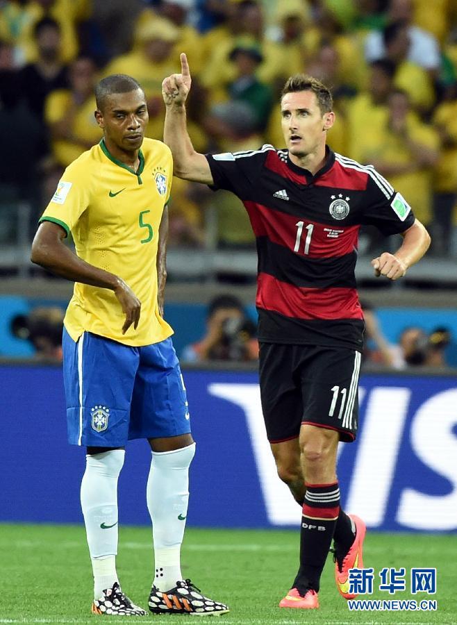 克洛泽成为世界杯历史最佳射手-克洛泽,最佳射手