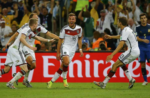 Germany wins World Cup on Mario Gotze's brilliance