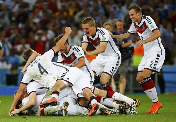 Germany wins World Cup on Mario Gotze's brilliance