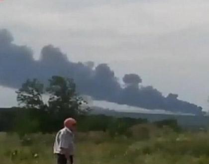 直击马航MH17客机坠毁现场