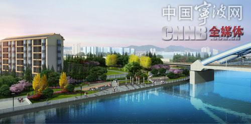 奉化江西岸节点广场(效果图)