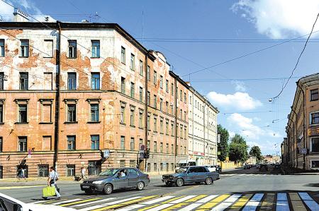 欧式石板外墙建筑图片