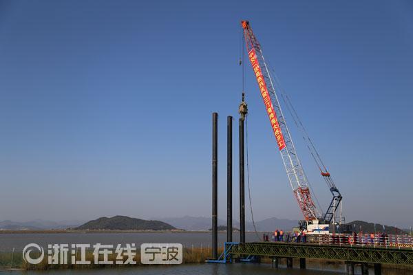 三门湾大桥及接线工程(宁波段)正式开工
