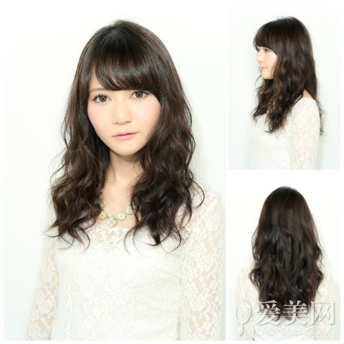今年冬季流行的发型:黑色长烫发-烫发类型 今年流行烫发 烫发后如何