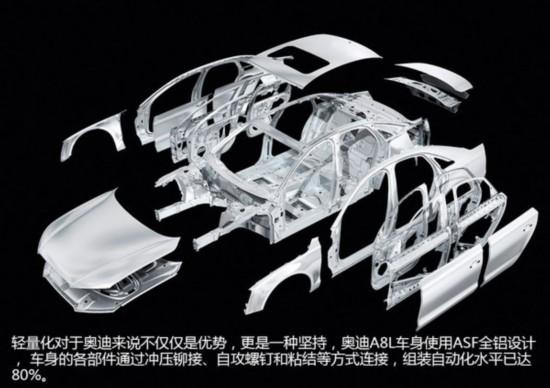 2014款奥迪A8L试驾科技与优雅的结合