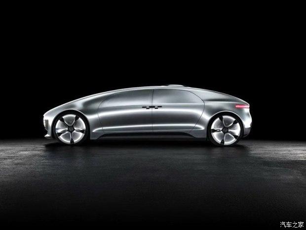 极具抽象感 奔驰自动驾驶概念车官图