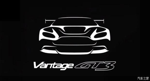 阿斯顿•马丁V12 Vantage GT3预告图
