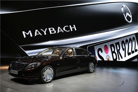 蔡澈:奔驰-迈巴赫将有一半销往中国市场