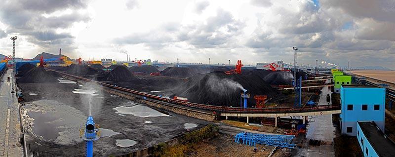 人民网宁波1月12日电(方圆圆)宁波镇海港是浙江省煤炭吞吐量最大的港