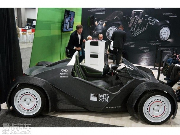 全球首款3D打印汽车 北美车展正式亮相