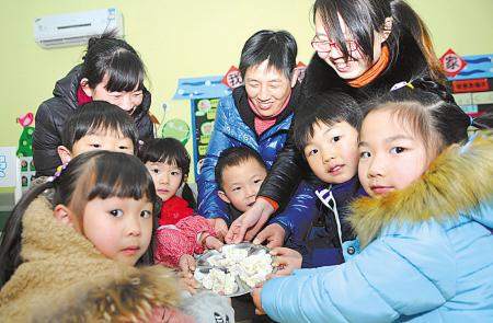 食品美食v食品春-中班,展示,段湖北华美仙桃亲子图片
