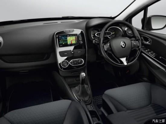 雷诺ClioGTLine套件版车型官图发布