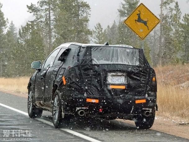 凯迪拉克XT5将取代SRX 有望4月纽约发布