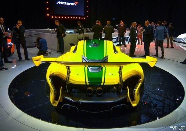 2015日内瓦车展:迈凯伦P1 GTR正式发布